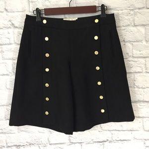 Elevenses by Anthropologie Black Shorts Size 6